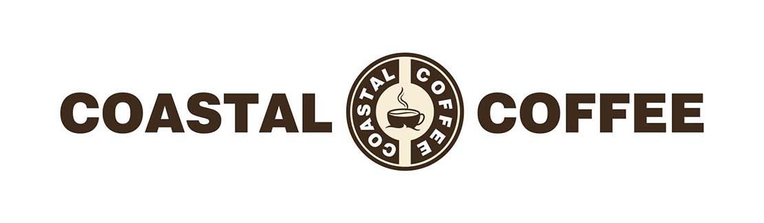 coastal coffee logo design