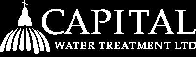capital water white logo