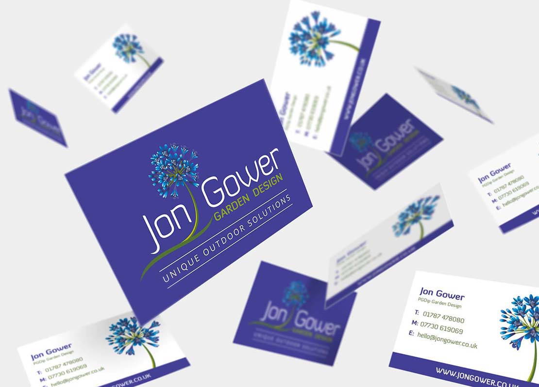 flying business card designs