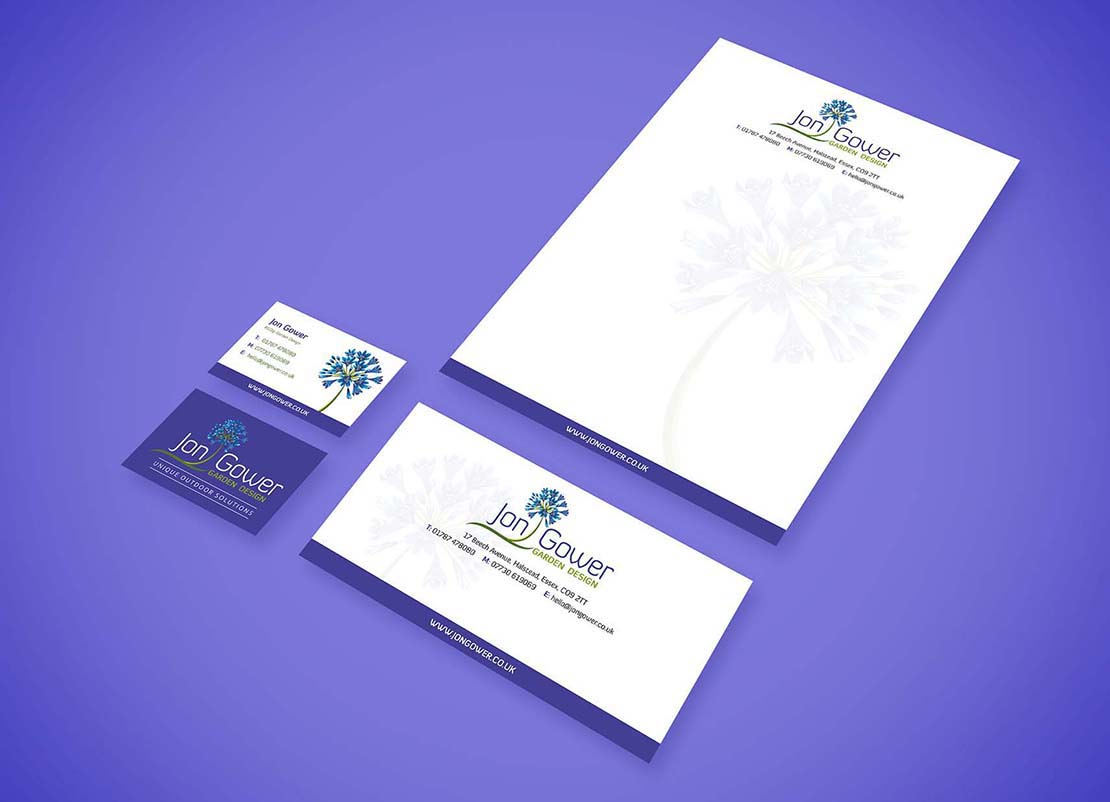 corporate stationery design and printing