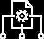 custom cms white icon