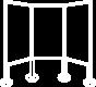 large format print white icon