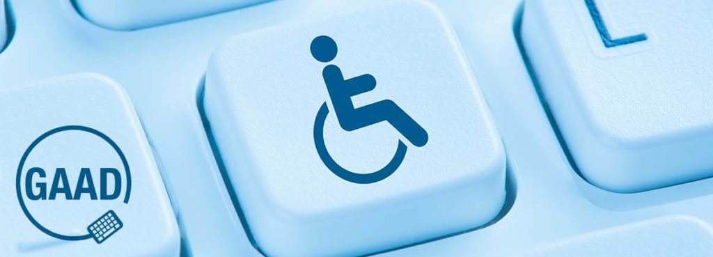 wheelchair key on keyboard