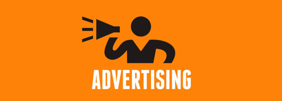 advertising shouting concept