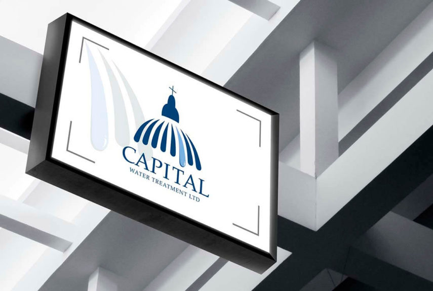 branded signage for capital