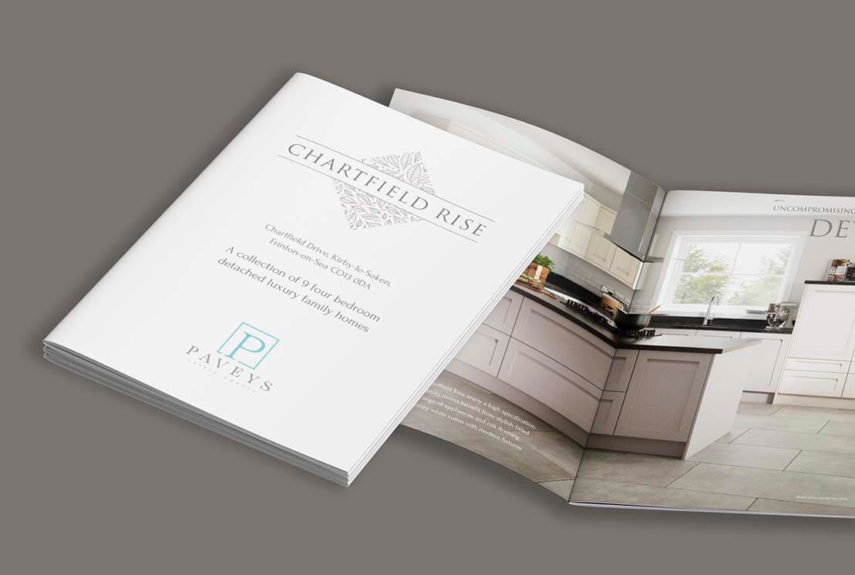 paveys brochure design work