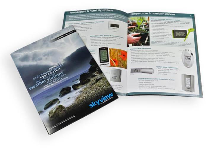 skyview brochure design example