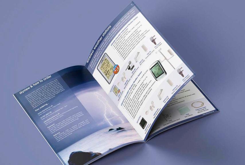 skyview brochure design