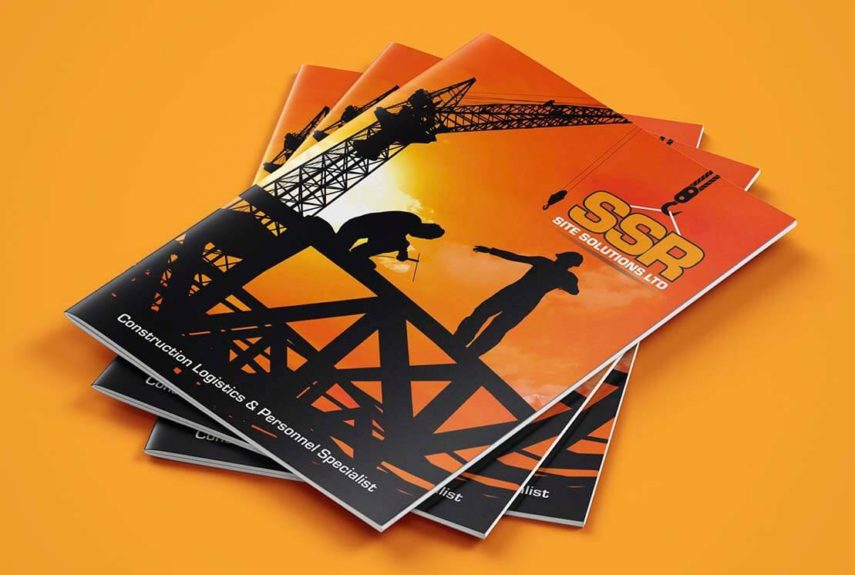litho printed brochure design