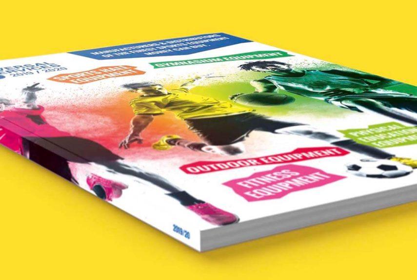 colourful brochure design for userv