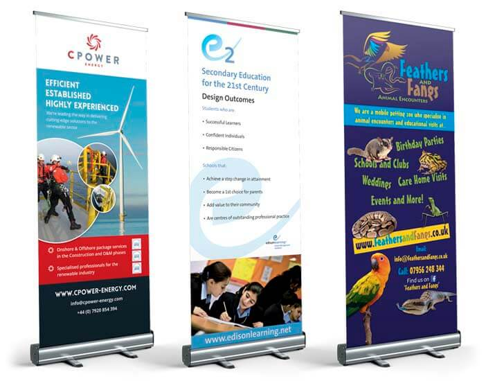 bespoke roller banner designs