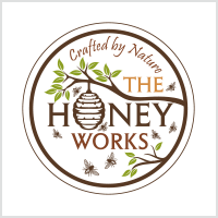 the honeyworks beehive logo design