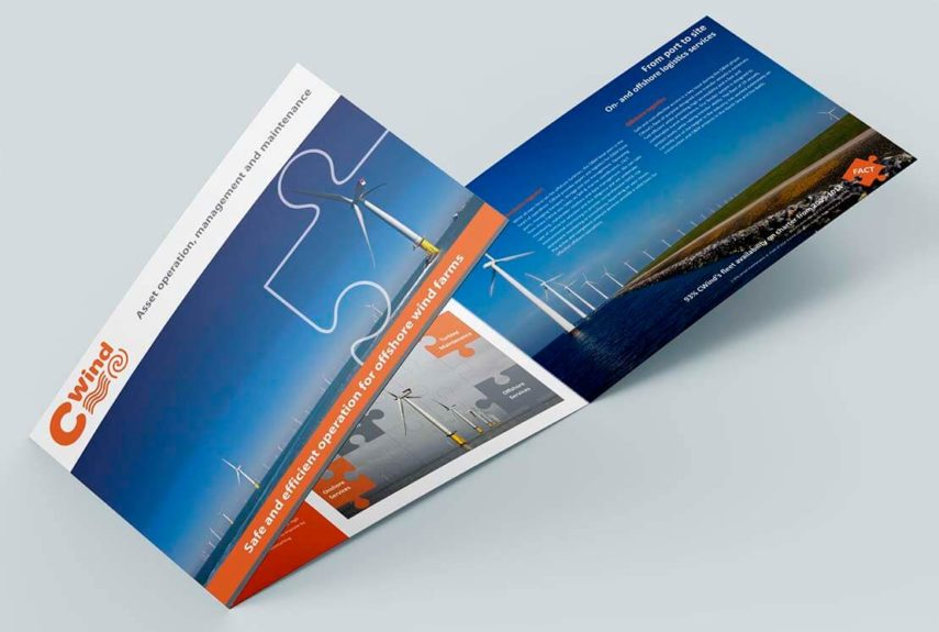 leaflet design for cwind