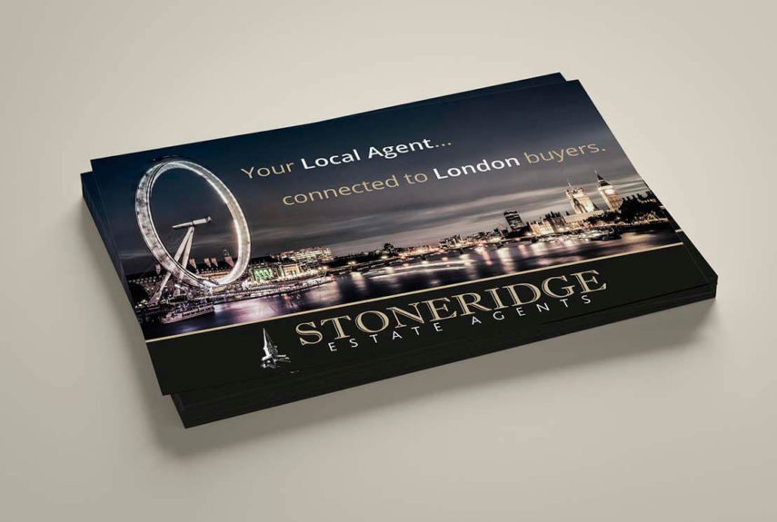litho printed leaflets for stoneridge estates