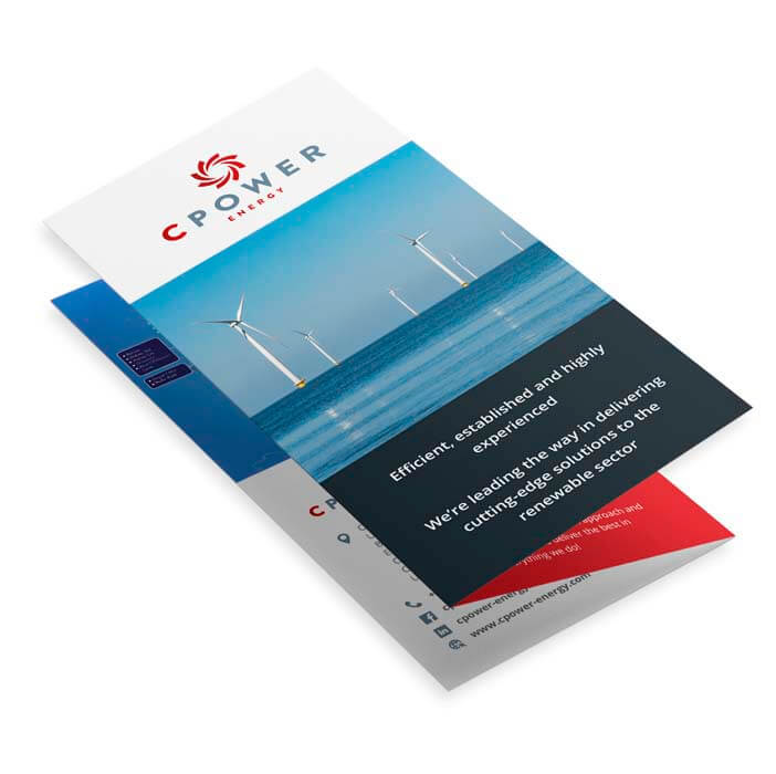 cpower 6 page dl leaflet