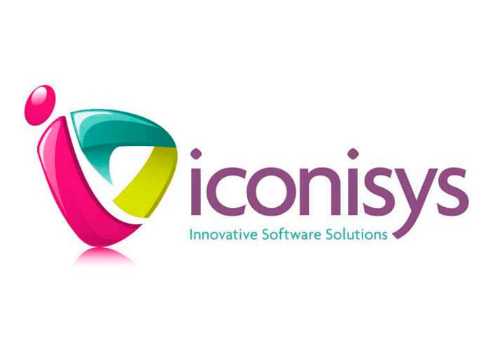 colourful logo design for iconisys