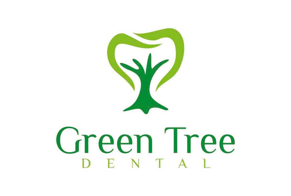 green tree logo looks like a tooth