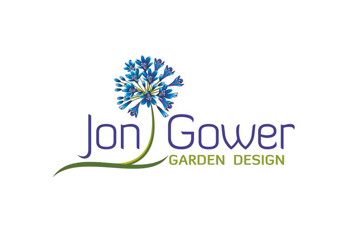 colourful logo concept for jon gower
