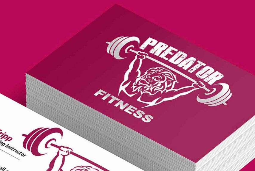 predator fitness custom logo