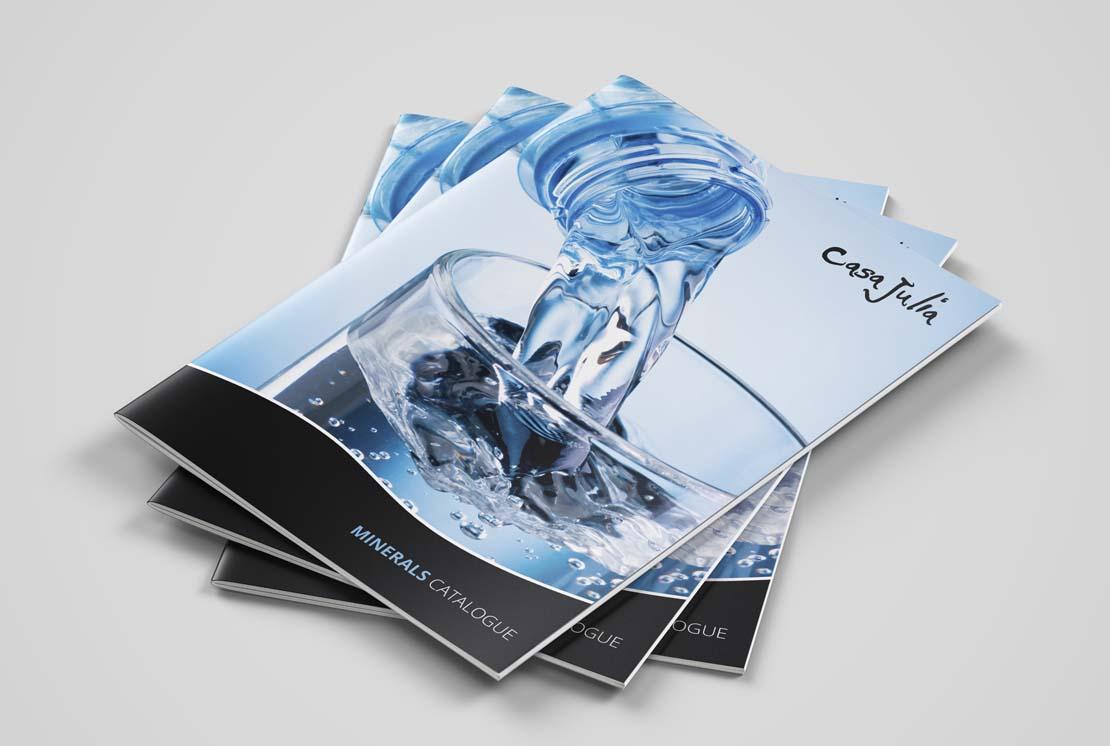 casa julia printed water catalogue