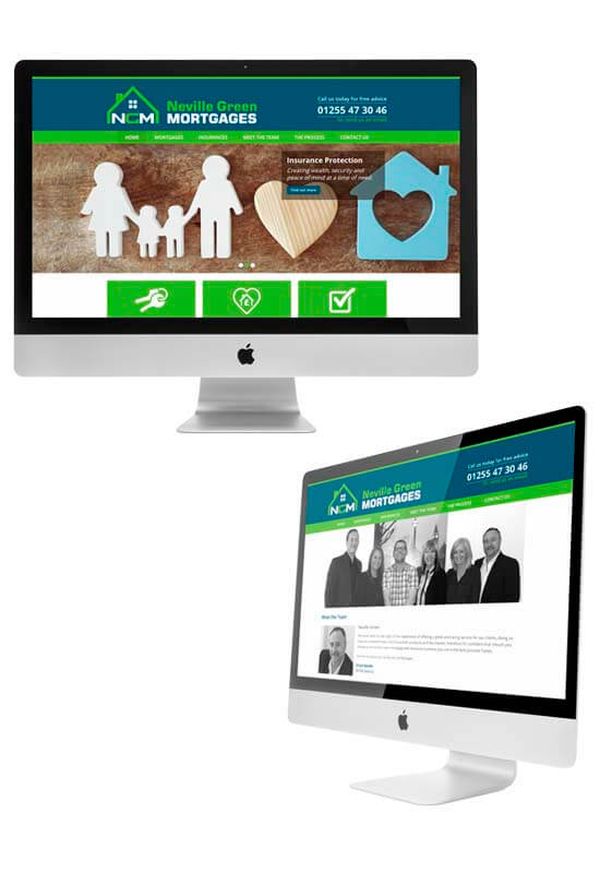 startup website for neville green mortgages
