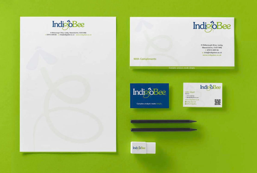 printed business stationery for local company