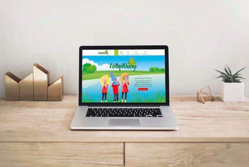leapalong website homepage