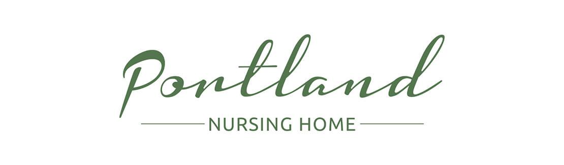 portland nursing green logo design